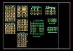 جزییات اجرایی و جداول استاندارد برق 1